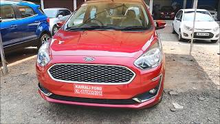 2018 FORD ASPIRE 1.5 TDCi TITANIUM Review I Ford Figo Aspire Features & Specifications