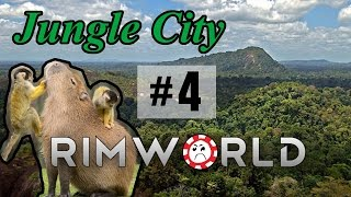 Tacticular Fail [4] Jungle City Rimworld High Pop Challenge