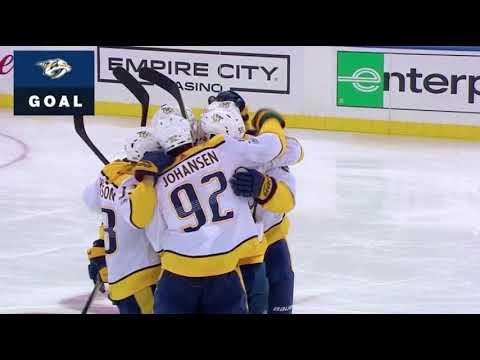Mattias Ekholm Goal vs NYR October 21, 2017