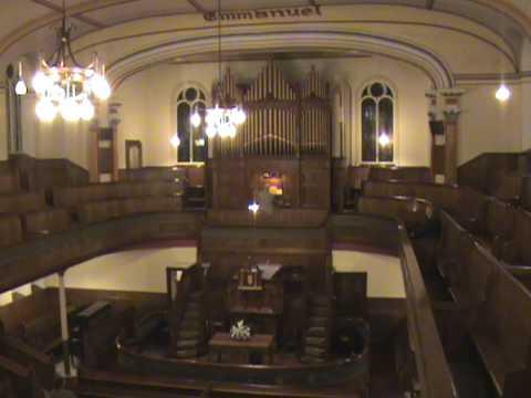 """""""Dead March Saul Handel""""  Tabernacle Chapel Llanelli Swansea Organ Association"""