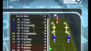 Premier Manager Gameplay (PS3 Exclusive)