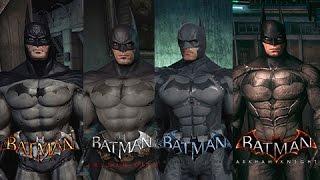 Batman Arkham Knight VS Batman Akrham SAGA | Evolución Gráfica