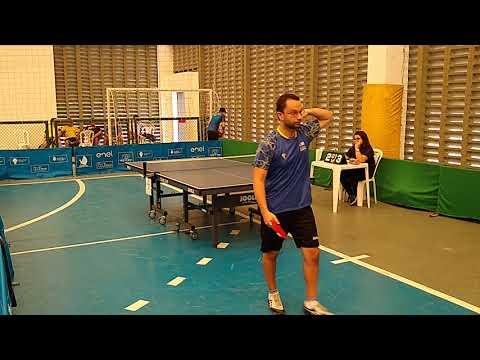 4º Etapa Campeonato Cearense De Tênis De Mesa - Master - Alexandre Monteiro X Márcio Fontenele