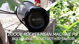 Best Budget Bluetooth Speakers : Zoook Rocker Mean Machine M2 Unboxing And Review