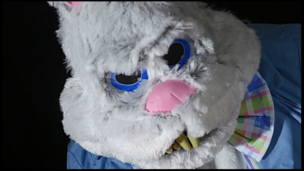 ravenous rabbit ani-motion ™ mask - youtube