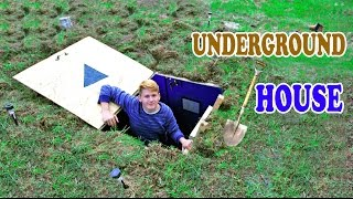 Underground House - DIY | How to build a house under the ground thumbnail