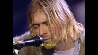Nirvana - Where did you sleep last night subtitulado español
