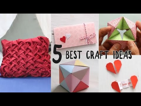 5 Easy Craft Ideas | Easy DIY | Ventuno Art