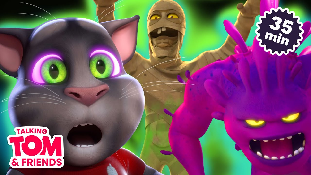 🎃 Monsters, Mummies, and Mysteries! 🎃 Talking Tom & Friends Halloween Special