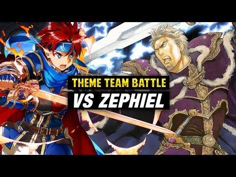 INFERNAL Zephiel GHB Vs. Roy & Binding Blade Units - Fire Emblem Heroes Theme Team Battle