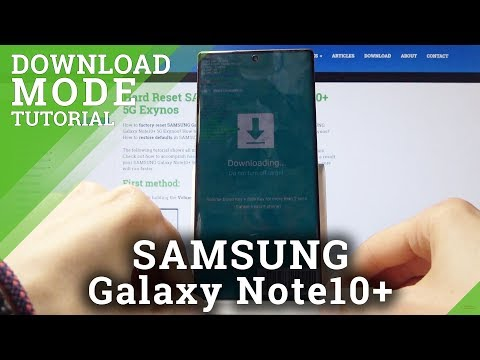 How to enable Download Mode in SAMSUNG Galaxy Note 10+