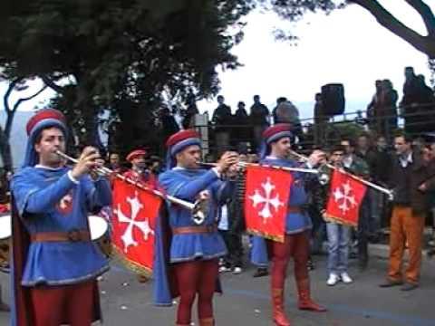 Historical costume parade PISA in Gaeta, Italy, Yacht Med Festival 17th april 2011 3