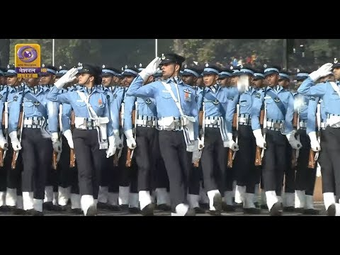 Indian Defense Regiments & Bands at the 71st Republic Day Parade 2020