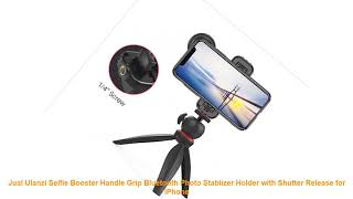 Jual Ulanzi Selfie Booster Handle Grip Bluetooth Photo Stablizer Holder with Shutter Release for iP