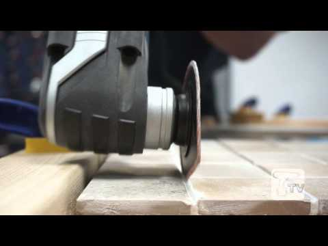 Kitchen & Bathroom Fitters - 3 Multi-cutter Accessories You Need - a Toolstop Guide