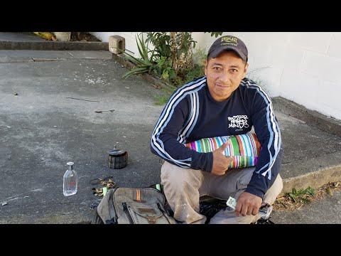 """La historia de Gustavo """"La basura de unos es comida y trabajo para otros"""" Salvadoreños emprendedores"""
