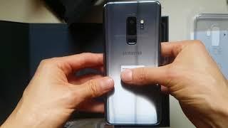 Unboxing Samsung Galaxy s9 plus Gris (Titanium gray) y Bocinas harman kardon ONYX STUDIO 4