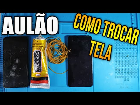 Como Trocar Tela de Celular - Vídeo tutorial