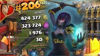 STREGHE MAXATE !! (Lv. 3) Dual Maxing | Clash of clans #206 [ITA]