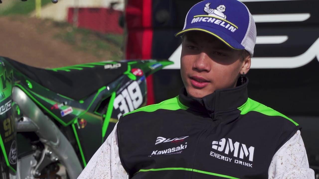 Une journée de test Michelin pour le Team 9MM Energy Drink Bud Racing Kawasaki à St Jean d'Angely