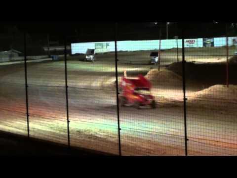 El Paso Speedway Park ASCS Sprint Cars Main Event