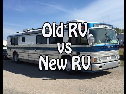Old RV vs New RV - Pros & Cons of Renovating and Buying New
