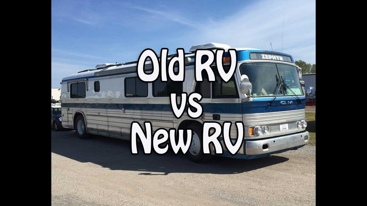 old rv vs new rv pros amp cons of renovating and buying
