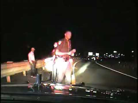 Drunken driving stop of Flint City Councilman Wantwaz Davis - Full Video
