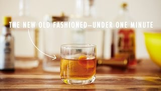 Quick Mix! The New Old Fashioned