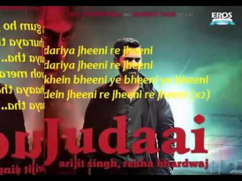Judaai Chadariya jheeni re jheeni   Badlapur 2015   Lyrics Full Hindi Song   YouTubevia torchbrowser