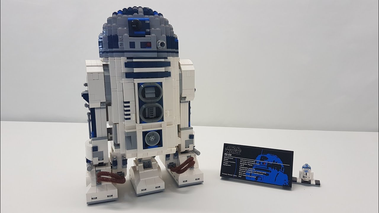 LEGO Star Wars UCS R2-D2 Review - Set 10225