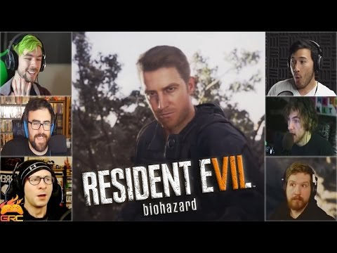 Gamers Reactions to Appearance of Redfield (Part 1) | Resident Evil 7: Biohazard