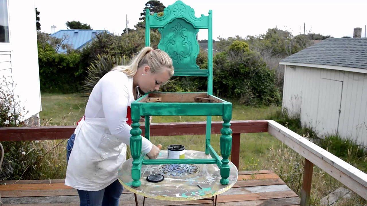 Diy Vintage Chair Planter