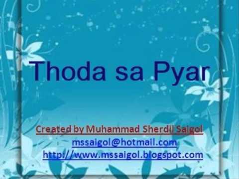 Thoda sa pyar from movie Kuch love jaisa