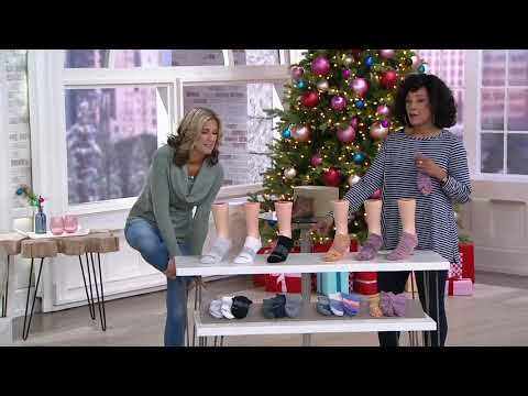 Bombas Set of 3 Ankle Socks on QVC