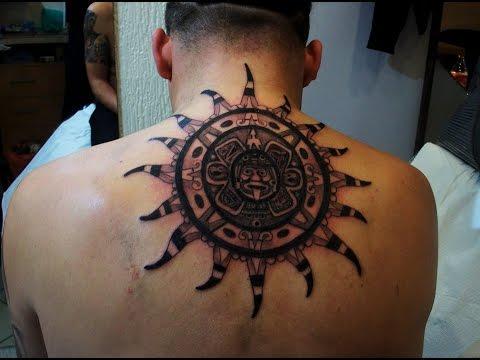 Tatuajes de sol youtube - Dibujos tribales para tatuar ...