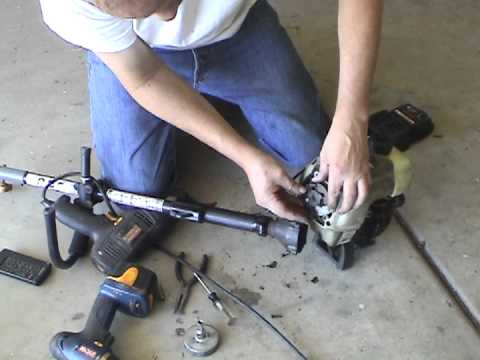 start  craftsman  cycle trimmer funnydogtv