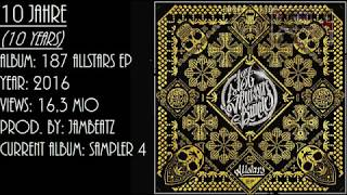 [German rap with english subtitles] 187 Straßenbande - 10 Years (10 Jahre)