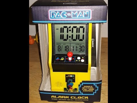Unboxing PacMan Alarm Clock By Paladone.