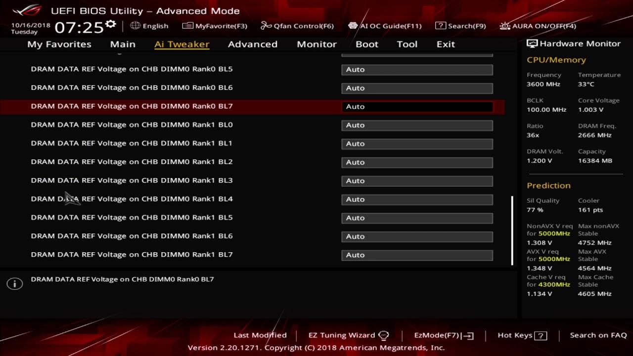 Asus ROG Strix Z390-I Gaming UEFI