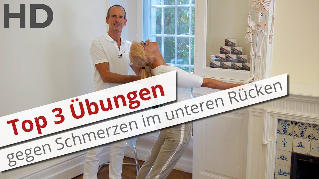 Atemberaubend Top 3 Übungen gegen Schmerzen im unteren Rücken // Rückenschmerzen &WE_31