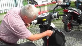 Odjazdowe Lato   kolejny skuter odebrany