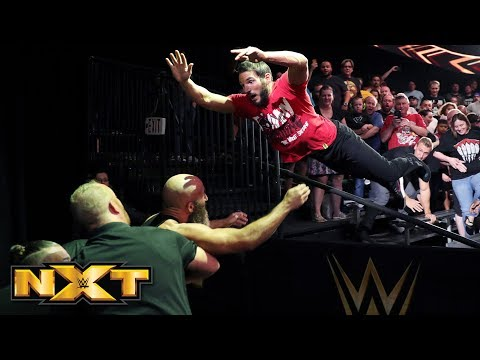 Johnny Gargano attacks Tommaso Ciampa: WWE NXT, June 6, 2018