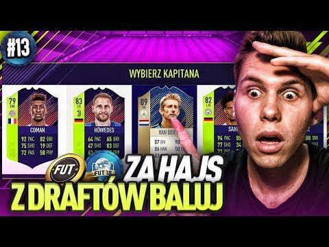 PIĘKNE 4 KARTY PTG W DRAFCIE!!! - FIFA 18 ZHZDB [#13]
