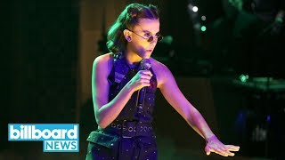 Millie Bobby Brown Raps a Recap of 'Stranger Things' Season One & It's Epic | Billboard News