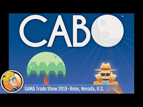 CABO (second edition) — game overview at GAMA Trade Show