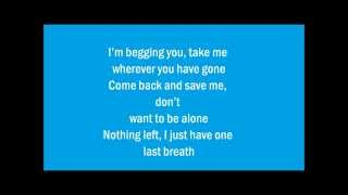 Gambar cover One Last Breath -  Μαρία-Έλενα Κυριάκου (Lyrics)