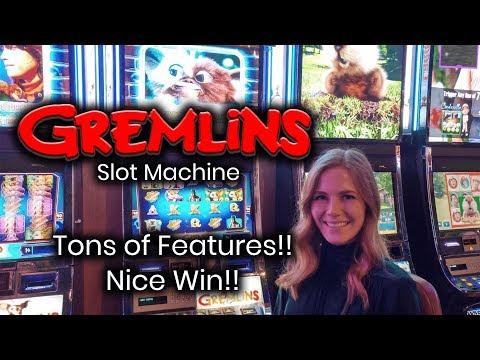 Gremlins Slot Machine * Tons of Features! Bonus!!! Great Win!!!