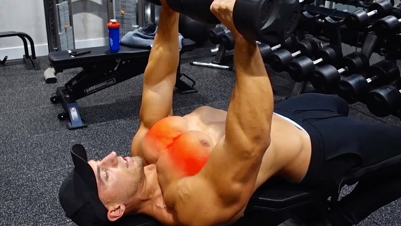 How To Dumbbell Bench Press Improve Chest Activation