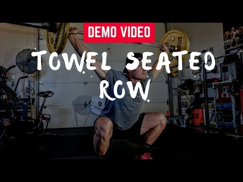 Towel Seated Row